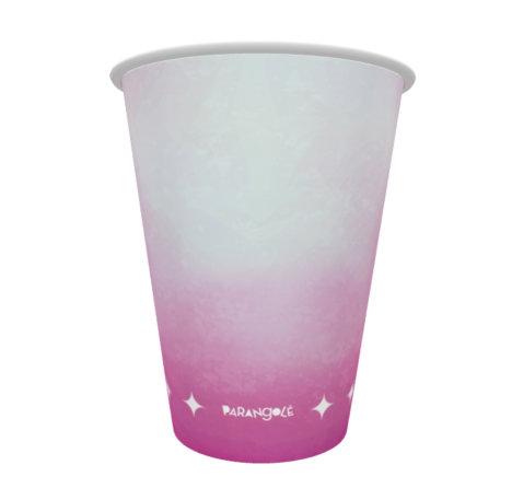 copo de papel rosa 1