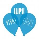 Bexiga Azul Turquesa Viva Oba Iupi