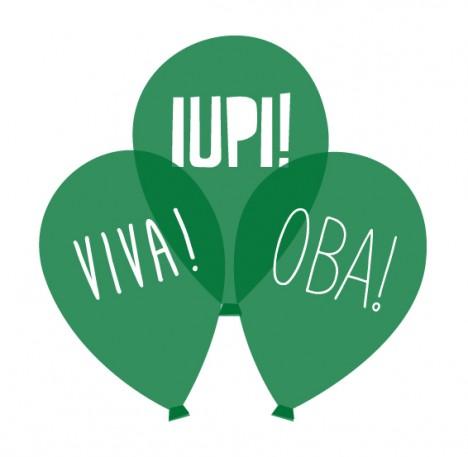 Bexiga Verde Escuro Viva Oba Iupi